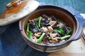 Chinese Chicken Stew with Black Fungus
