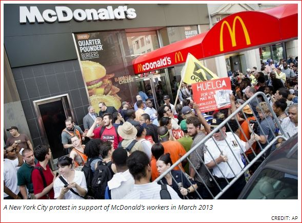 big mac strike