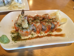 Tempura in sushi - isn't that cheating