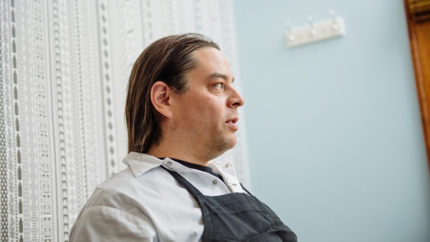 "Sean Sherman, who calls himself the ""Sioux Chef,"" grew up on the Pine Ridge Indian Reservation in South Dakota."